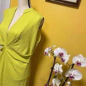 Zara Dresses - NWT Zara green/yellow dress size S